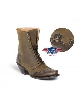 dámske westernové čižmy WBL-31