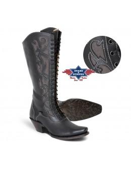 dámske westernové čižmy WBL-30