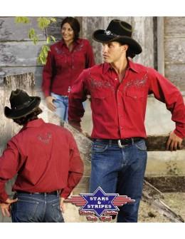 Westernová košeľa Clyde