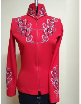 Ejka Show Blouse Red