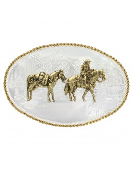 Western Belt Buckle with...