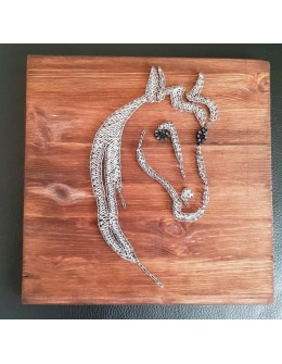 wall decor White Horse