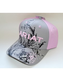 Ladies Ariat Pink cap with...