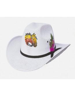 Child western hat Horse