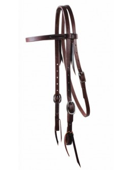 "Ranch 5/8"" Browband Headstall"