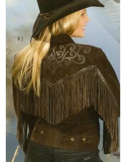 dámska westernová bunda Yuma