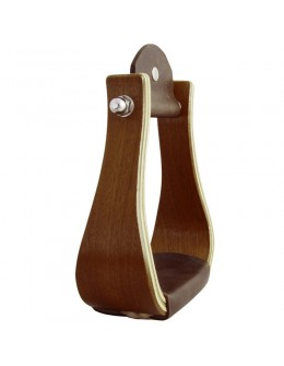 Wooden Stirrups Chestnut