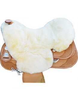 Saddle seat sheepskin for...