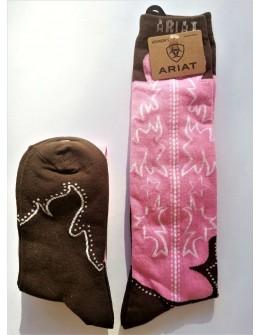 Dámske podkolienky Pink