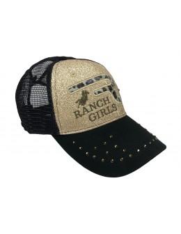 RANCHGIRLS CAP LEO GOLD...