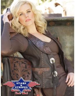 dámska westernová vesta Elin