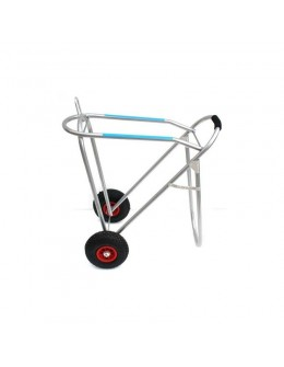 vozík na sedlo s pneumatikami