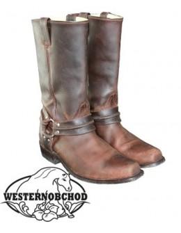 Westernové čižmy WB-01