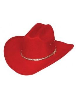 detský klobúk Cattleman Red