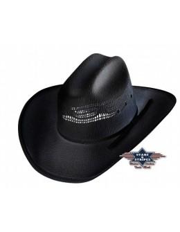 westernový klobúk Ashton black