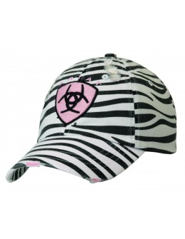 Ariat Ladies Zebra Cap