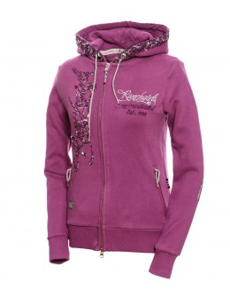 WOMEN HOODED SWEAT JKT...