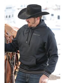 Cinch Men's Black Pullover...