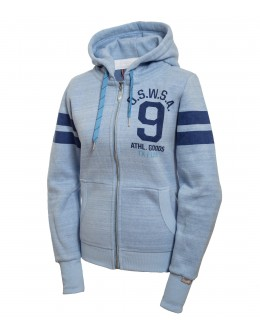 "WOMEN HOODED SWEAT JKT ""SANII"""